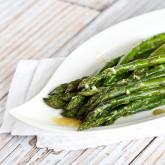 Roasted Asparagus Recipe with Dijon Vinaigrette Dressing