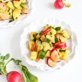 Smoky Cucumber, Radish & Avocado Salad Recipe